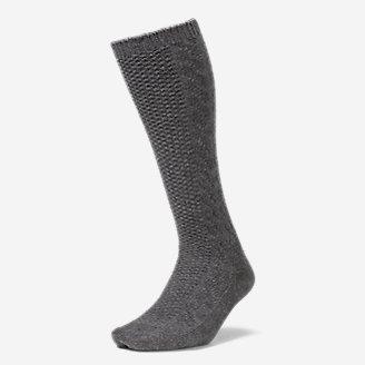 Women's Boot Socks in Gray