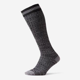 Women's Ragg Boot Socks in Gray