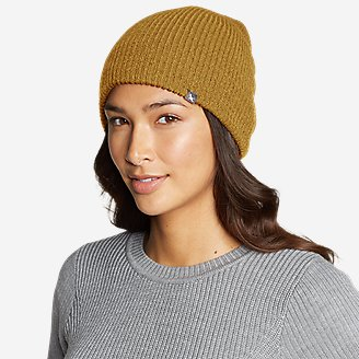 Shasta Beanie in Yellow
