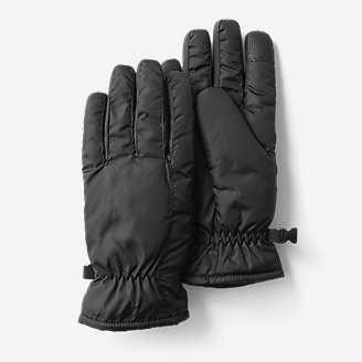 Women's Lodge Down Gloves in Gray