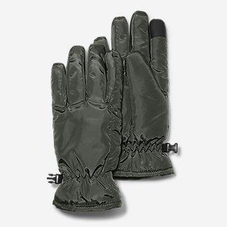 Women's Lodge Down Gloves in Green