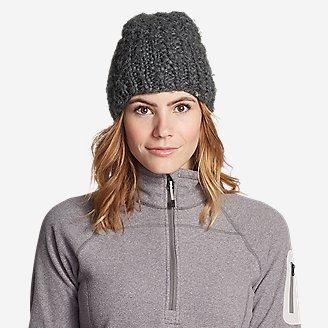 Women's Notion Beanie in Gray