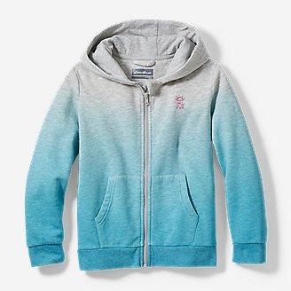 Girls' Pacific Beach Full-Zip Hoodie - Ombré in Blue