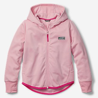 Girls' Trail Active Hoodie in Red