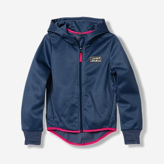 Girls' Trail Active Hoodie in Blue