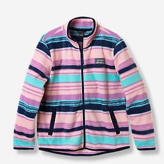 Girls' Quest Fleece Full-Zip Jacket in Blue