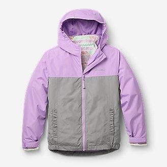 Girls' Lone Peak 3-in-1 Jacket in Purple