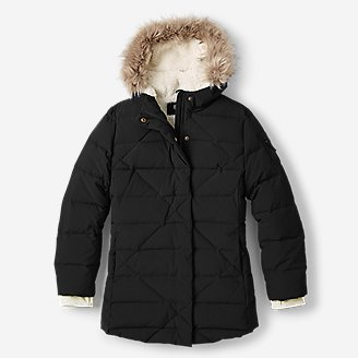 Girls' Sun Valley Frost Down Parka in Gray