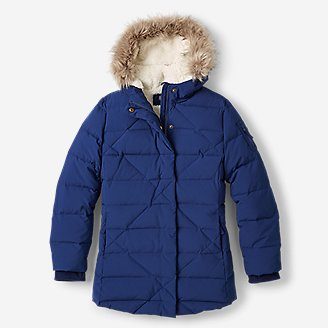 Girls' Sun Valley Frost Down Parka in Blue