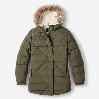 Girls' Sun Valley Frost Down Parka in Green