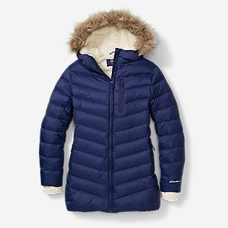 Girls' Sun Valley Down Parka in Blue