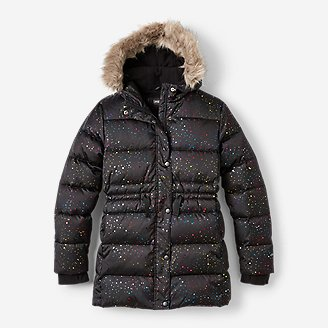 Girls' Cirruslite Down Parka in Black