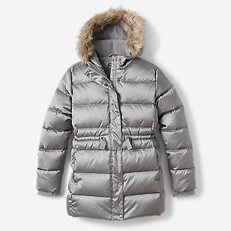 Girls' Cirruslite Down Parka in Blue