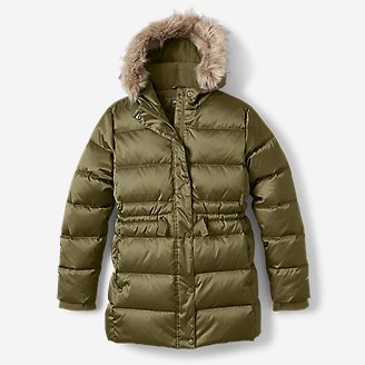 Girls' Cirruslite Down Parka in Green