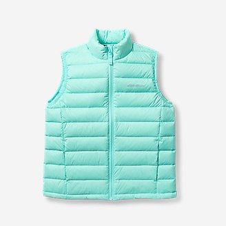 Girls' Cirruslite Down Vest in Blue