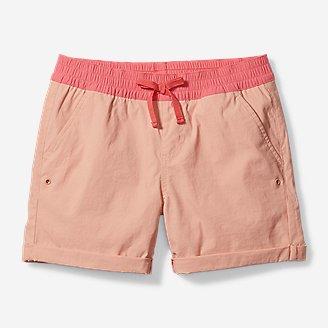 Girls' Girls' Adventurer Shorts in Orange