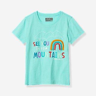 Girls' Better Short-Sleeve T-Shirt in Blue
