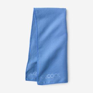 Serviette rafraîchissante O2COOL en bleu en bleu