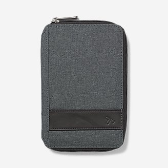 Porte-passeport RFID Travelon en gris en gris