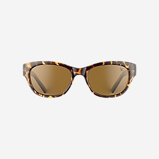 Whidbey Polarized Sunglasses in Brown