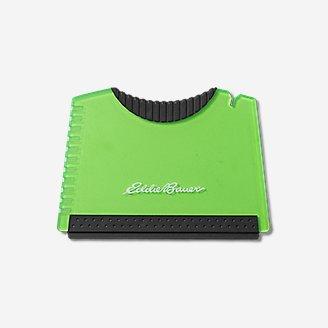 Grattoir à glace de voyage en vert en vert