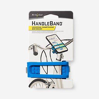 Support de barre pour smartphone Nite Ize HandleBand 2.0 en bleu en bleu