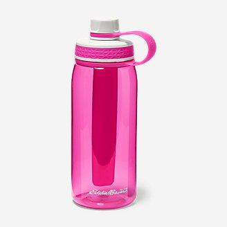 Freezer Water Bottle - 32 oz. in Red