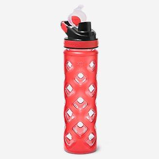 Blocktagon Bottle - 22 oz.  in Red