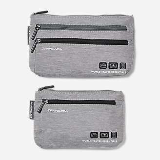 Travelon Currency and Passport Organizer in Gray