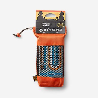 Outside Inside Backpack Cribbage in Orange