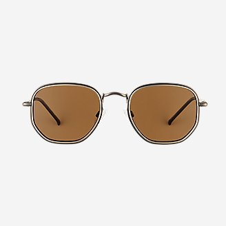 Densmore Polarized Sunglasses in Brown