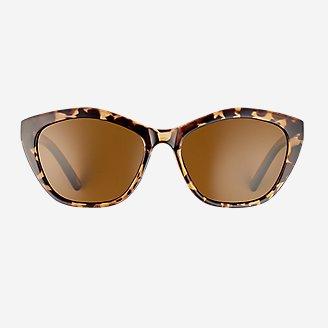 Burke Polarized Sunglasses in Brown