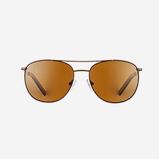 Interlake Polarized Sunglasses in Brown