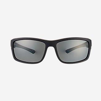 Saxon Polarized Sunglasses in Black