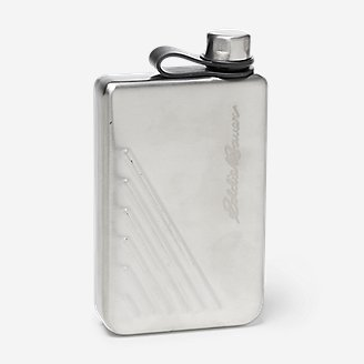 9 oz Flask in Gray