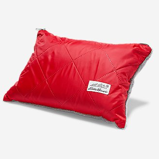 Recycled Outdoor Camp Throw in Red