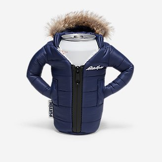 Lodge Parka Can Cooler in Blue