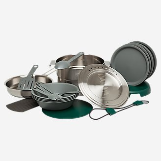 Stanley Full Kitchen Base Camp Cook Set in Gray