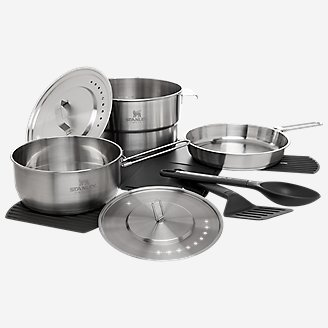 Stanley Even-Heat Camp Pro Cook Set in Gray