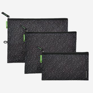 Travelon Anti-Microbial Pouches - Set of 3 in Black