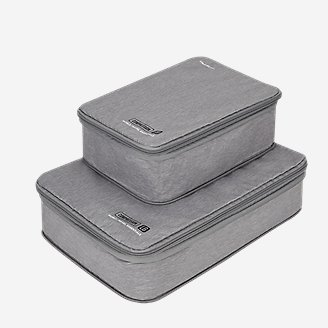 Travelon World Travel Essentials Compression Cubes - Set of 2 in Gray