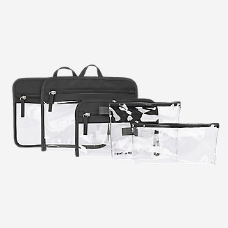 Travelon Packing Pouches - Set of 5 in Black