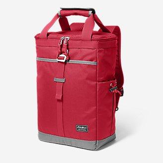 Bygone Backpack Cooler in Red