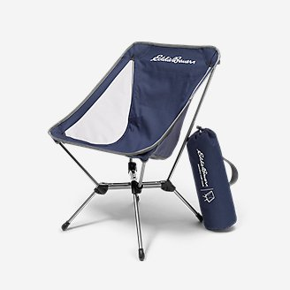 Packable Camp Chair in Blue