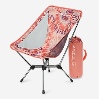 Packable Camp Chair in Red