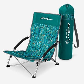 Camp Chair - Low in Blue