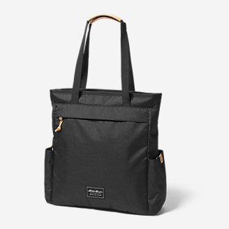Bygone Backpack Tote in Black