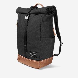 Bygone Rolltop Bag in Black