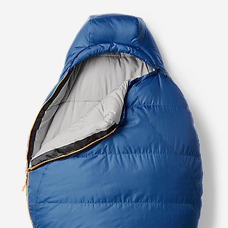 Snowline 20º Down Hybrid Mummy Bag in Blue