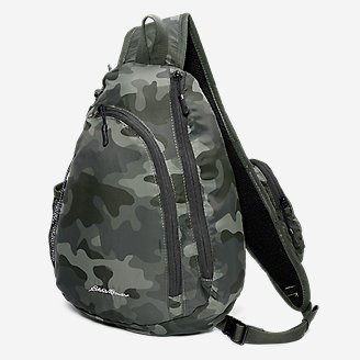 Ripstop Sling Pack in Green